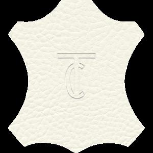 Simili Cuir Exterior Grain Blanc -  W0301