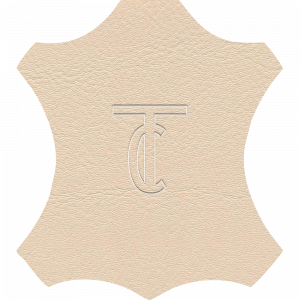 Simili Cuir Exterior Crème -  W0306