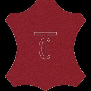 Simili Cuir Exterior Rouge -  W0310