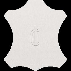 Simili Cuir Grano Medio Blanc - W0900