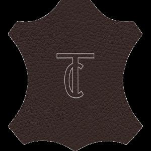 Simili Cuir Grano Fine Chocolat - W0517