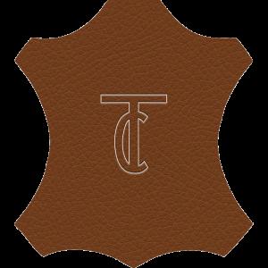 Simili Cuir Grano Fine Cognac - W0506