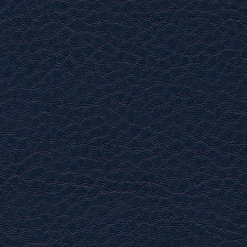 Simili Cuir Grano Grande Bleu Marine - W0631