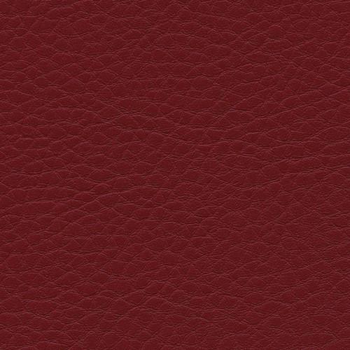 Simili Cuir Grano Grande Cerise - W0617