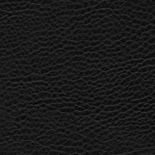 Simili Cuir Grano Grande Noir - W0644