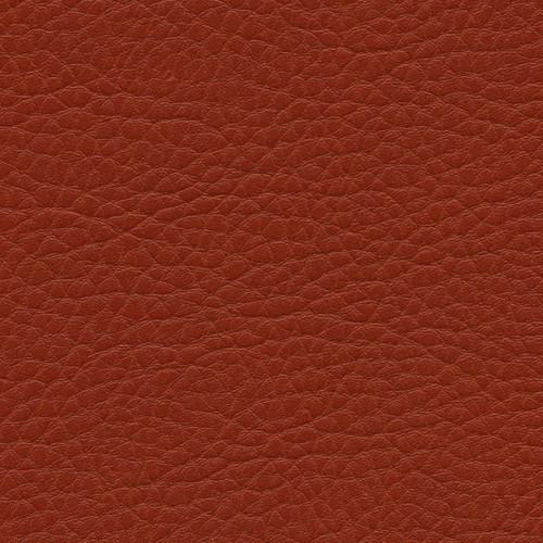 Simili Cuir Grano Grande Vermillon - W0616