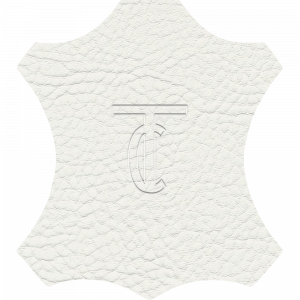 Simili Cuir Grano Grande Blanc - W0600