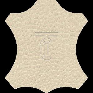 Simili Cuir Grano Grande Écru - W0601
