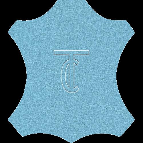 Simili Cuir Venato Bleu Clair - W0725