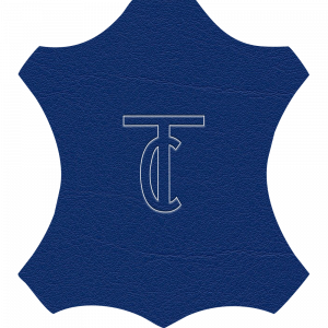 Simili Cuir Venato Bleu Roi - W0728