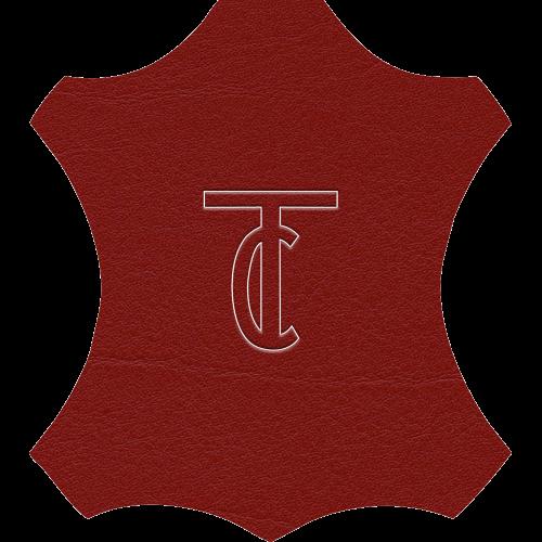 Simili Cuir Venato Bordeaux - W0712