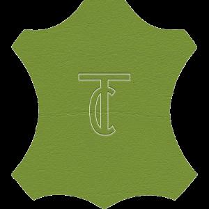 Simili Cuir Venato Vert Pomme - W0718